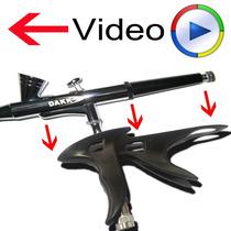 Punho Grip - Transforma Aerógrafo Em Pistola - Veja O Video