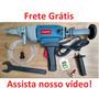 Perfuratriz Manual Comcreto + Serras 3 Serras De 57mmx370mm