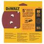 Kit 5 Disco De Lixa (5 Pol) G80 Dw4301 Dewalt