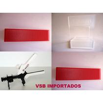 Kit Nivelador De Piso,200 Clips 1mm+50cunhas+alicate Diamond