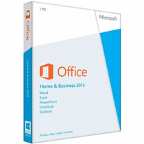 Pacote Office 2013 Home And Business Pt-br Fpp Licença