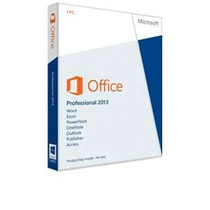 Microsoft Office Professional 2013 Caixa Box Fpp Esd