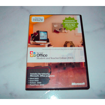 Microsoft Office Student And Teacher Edition 2003 3 Licença