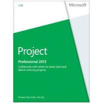 Ms Projetc Pro 2013 Original Português Brasil 32/64 Bits