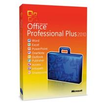 Licença Office Pro Professional Plus 2010 - 1 Ano Garantia