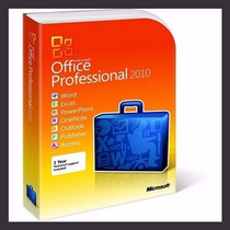 Licença /chave /serial / Office 2010 Pro Plus - Ative Online