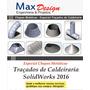 Traçados De Caldeiraria Chapas Metálicas Solidworks 2016