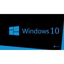 Windows 10 Pro 32/64 Bits - Original® Fpp Vitalicia
