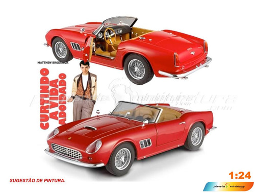 Ferrari 250 California Swb 1/24 - Ferris Bullers Day Of