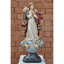Nossa Senhora Da Conceicao Imagem De Resina 45 Cm - Ir121