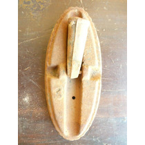 Escovão Nº3 Antigo Em Ferro Fundido - Cod.12/05/15-006