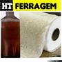 Kit Manta Fibra E Resina Para Conserto Caixa De Agua