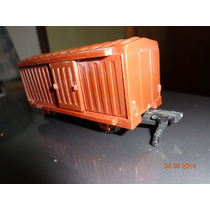 Ferrorama - Estrela - Xp100 Xp200 Xp300 Vagão Box Marrom