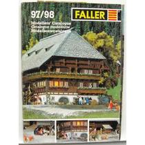 Catálogo Faller 1997/98 Ferreomodelismo Escala Ho, N E Z