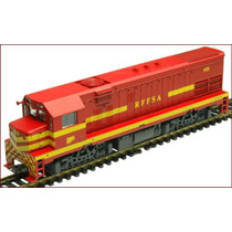 Frateschi-locomotiva G.22 U Rffsa - Vermelha