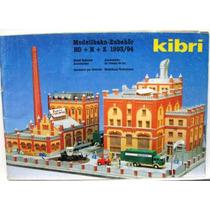 Catálogo Kibri 1993/94 Ferreomodelismo Escalas Ho, N E Z
