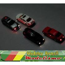 Miniatura Automóvel Com Iluminação 6v Ho 1:87 Em Plástico