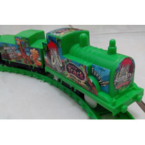 Trem Elétrico Locomotiva Produto Novo Na Caixa