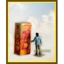 Miniatura Geladeira Cerveja Skol + Figura Ho 1:87 Praia