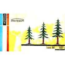 Kit Para Montar Frateschi De 3 Arvores - Pinheiros Escala Ho