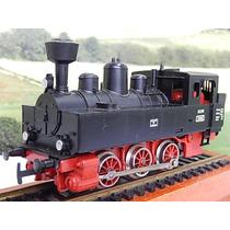 Escala Ho Locomotiva Vaporeira 0-6-0 Em Ótimo Estado S/caixa