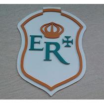 Placa Logo Ferrovias Ferreomodelismo Estrada Real