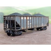 Escala N Micro Trains Vagão Hopper Aberto Com Minério 146557