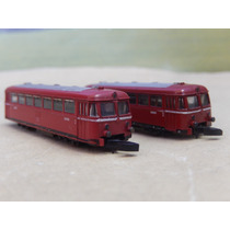 Escala Z Locomotiva Bonde Duplo Marklin Mini Club S/c.