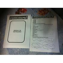 Ferrorama Estrela Manual Principal E Xp100 Xp500