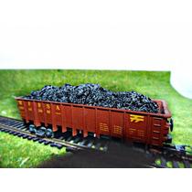 Especial 8x Carga Carvão P/ Vagão Curto Ho 1/87 Hbm331