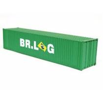 Container 40 Pés Br.log Ho 1:87 Frateschi 20755
