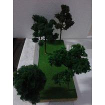 Árvores Ho Ferromodelismo Maquete 1/87