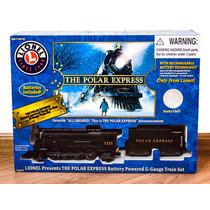 Trem Polar Express Da Lionel - Escala G (bem Grande)
