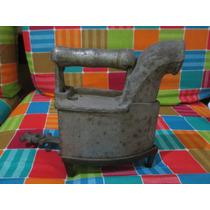Ferro A Carvao Antigo Com Base De Bronze Unico A Venda Raro
