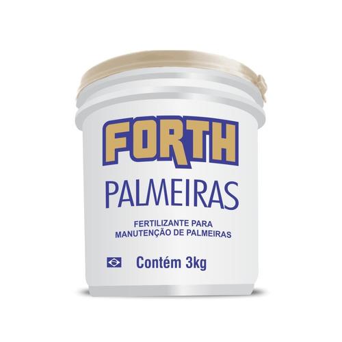 Fertilizante Para Palmeiras Marca Forth 3kg