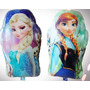 Balão Metalizado,frozen Ana E Elsa Pacote 10 Balões No Br