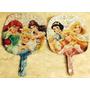 Balão Metalizado Princesas 9p 22,5cm - Kit Com 2 Unidades