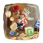 Balão Metalizado Toy Story Jessie Tam. 9p 22,5cm Kit C/ 2