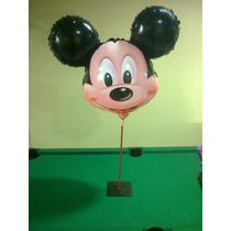 Balão Metalizado Mickey Ou Minnie - 10 Unidades