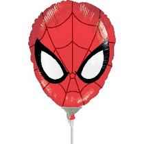 Balão Metalizado Homem Aranha 14p 35cm - Kit C/ 2 Unidades