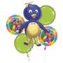 Balão Metalizado Backyardgans Bouquet C/5 Balões