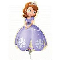 Balão Metalizado Princesa Sofia Tam.14p 35cm Kit C/ 2 Unid