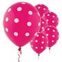 Balão Poá Nº10 - Decorado Com Bolinha - Várias Cores - 25 Un