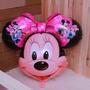 Kit C/ 15 Unid Balão Metalizado Cabeção Minnie R$ 52,50