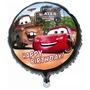 Kit Com 20 Balões Metalizados Do Carros - Festa Aniversário