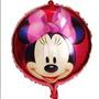Balão Metalizado Minnie Vermelho - 06 Balões