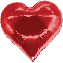 10 Bexiga Balão Metalizado 45cm Hélio Gas Festa Namorados