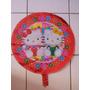 Kit C / 10 Balões Hello Kitty 45cm R$ 23,99