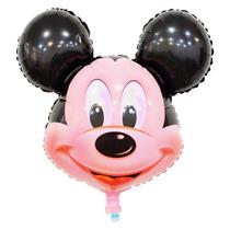 Balão Cabeça Mickey 30cm P/enfeite Mesa Kit C/10 Unid Vazios
