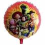 Balão Metalizado Toy Story 45cm Kit Com C/ 20 R$ 39,99